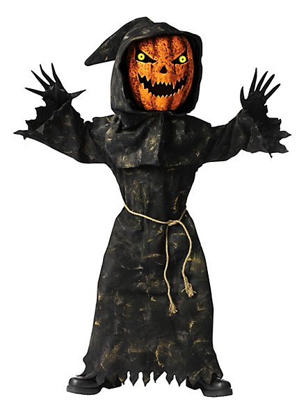 Pumpkin Bobblehead Kids Costume