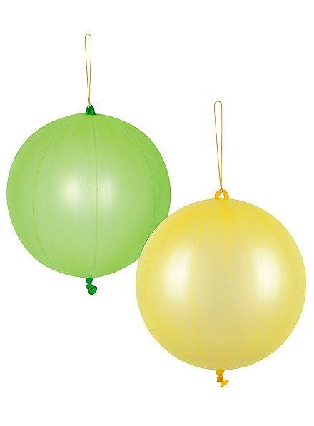 Punchballon neon 2 Stück