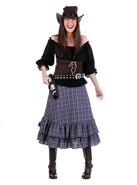 Purple cowgirl costume