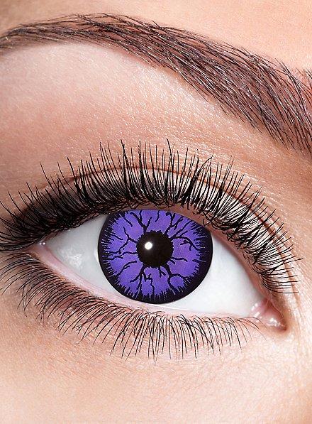 Purple Witch Kontaktlinse mit Dioptrien