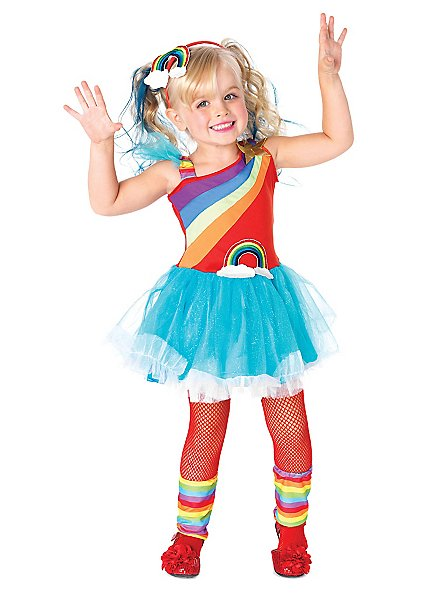 Rainbow Girl Child Costume