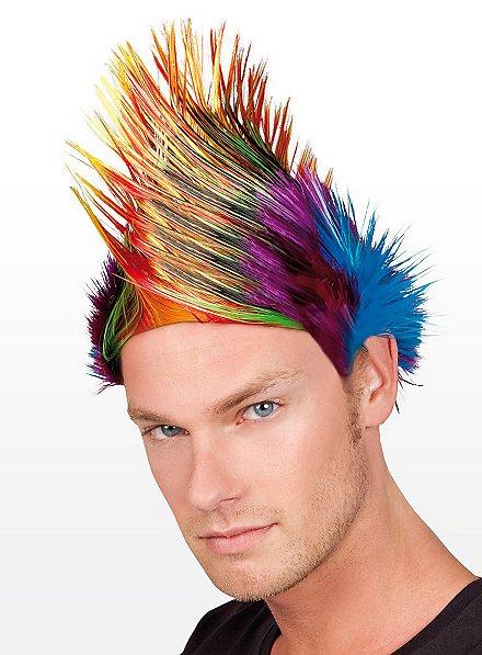 Rainbow Iro Wig