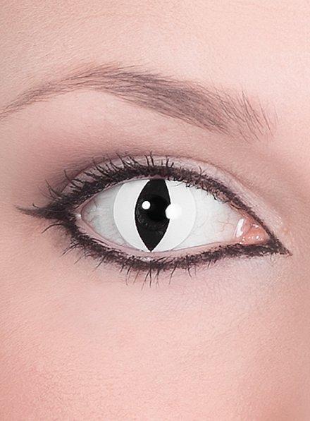 Raubtier weiß Kontaktlinsen