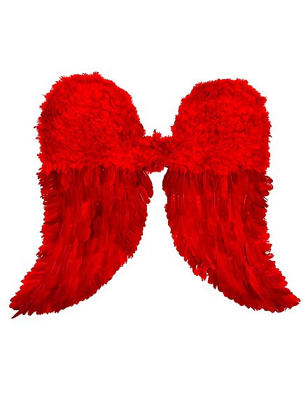 Red Angel Feather Wings