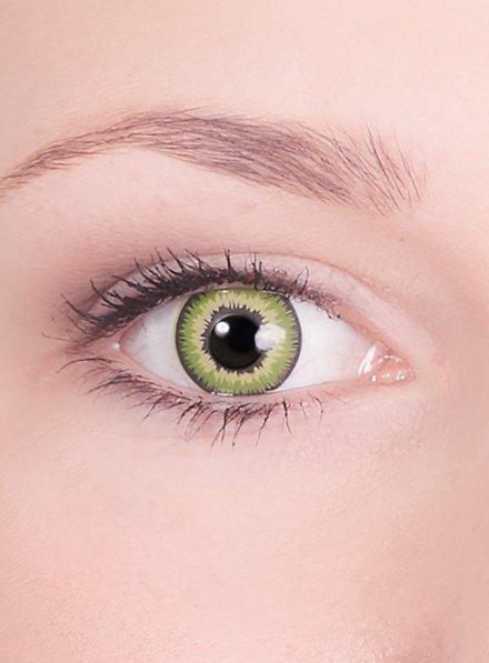 Hellgrüne Kontaktlinsen Reptil