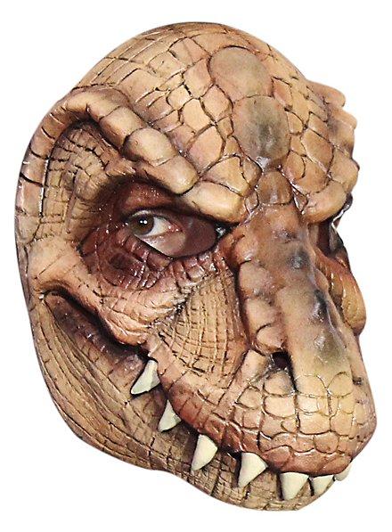 Reptiloid Halbmaske