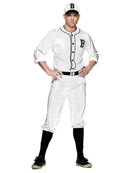 Retro Baseballspieler Kostüm