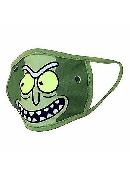 Rick and Morty - Pickle Rick Stoffmasken Doppelpack
