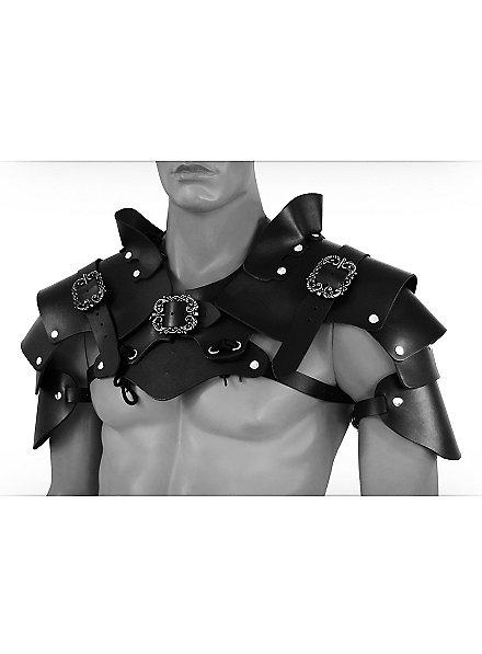 Robber Shoulder Guards black