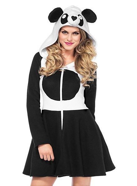 Robe à capuche panda
