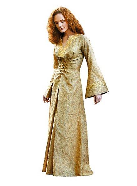 Robe Reine dorée