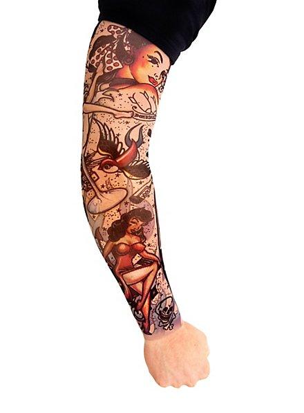 Rockabilly Tattoo Skin Ärmel