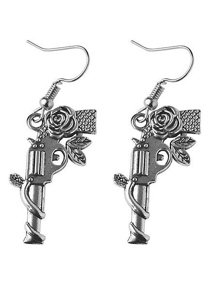 Roses & Guns Ohrringe