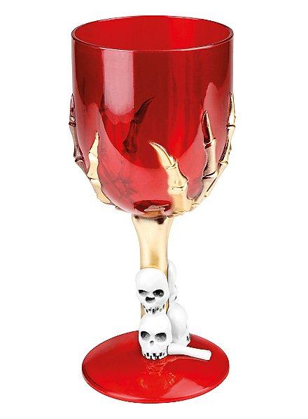 Roter Totenkopf Kelch
