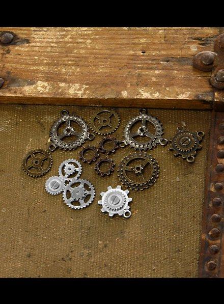 Roues dentées steampunk