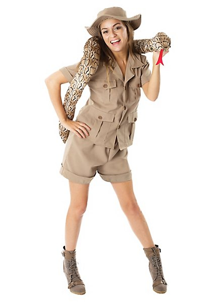 Safari Kostüm für Damen