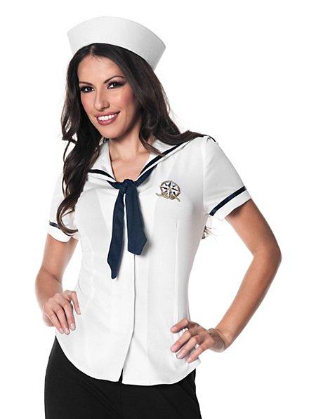 Sailor white Ladies Costume