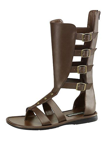 Sandales de gladiateur marrons