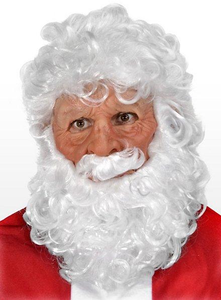 Santa Maske aus Latex