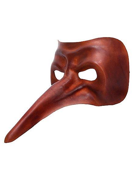 Scaramouche de cuoio Masque en cuir Commedia dell´Arte