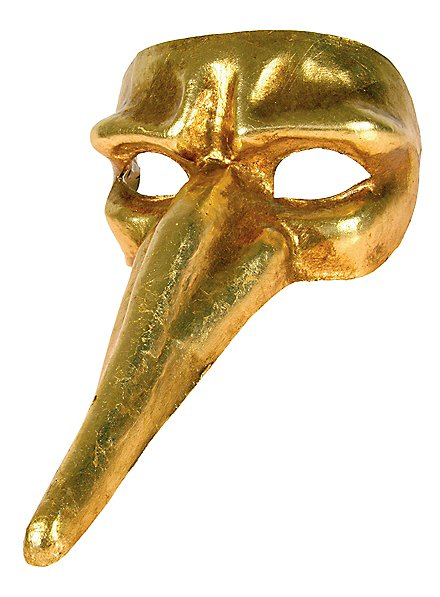 Scaramouche oro - Venezianische Maske