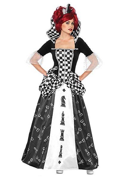 Schachkönigin Wunderland Kostüm