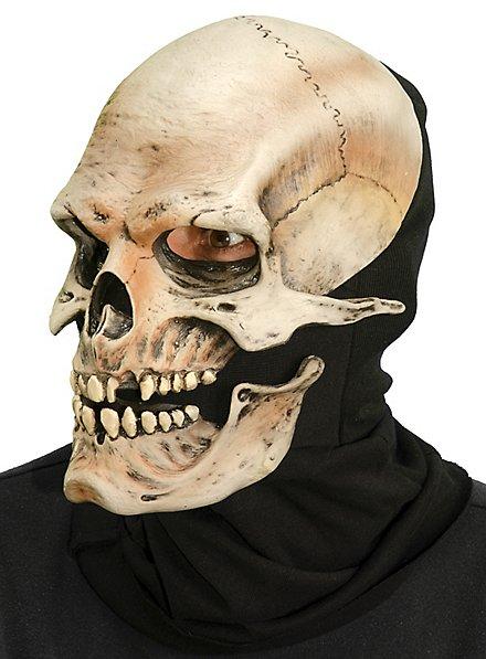Schädel Maske mit beweglichem Mund