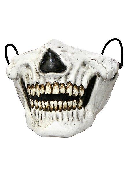 Schädel Mundmaske