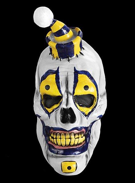 Schädelclown Maske aus Latex