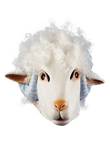 Schaf Maske aus Latex