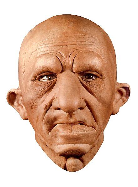 Schlauer Urfin Maske aus Schaumlatex