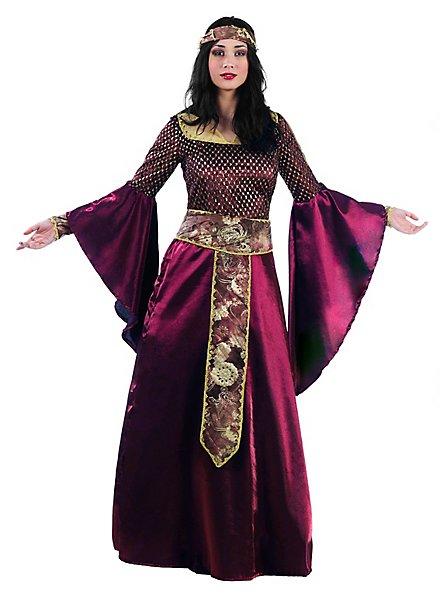 Seherin Kleid mit Trompetenärmeln Kostüm