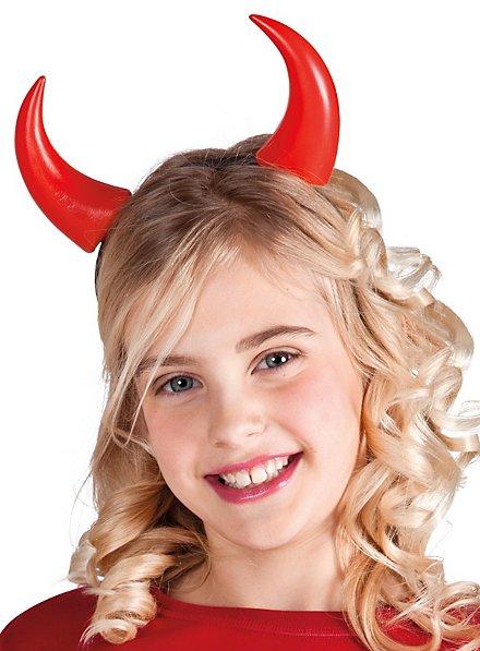 Serre-tête cornes de diable pour enfant