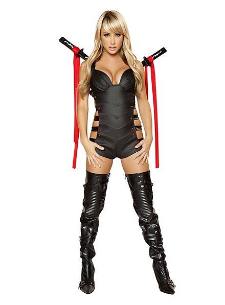 Sexy Attentäterin Kostüm