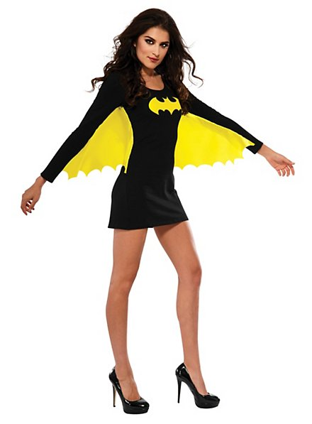 Sexy Batgirl with Wings Costume