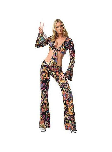 Sexy Blumenkind Kostüm