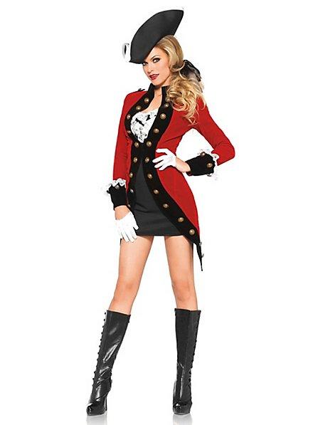Sexy Captain Corsair Costume