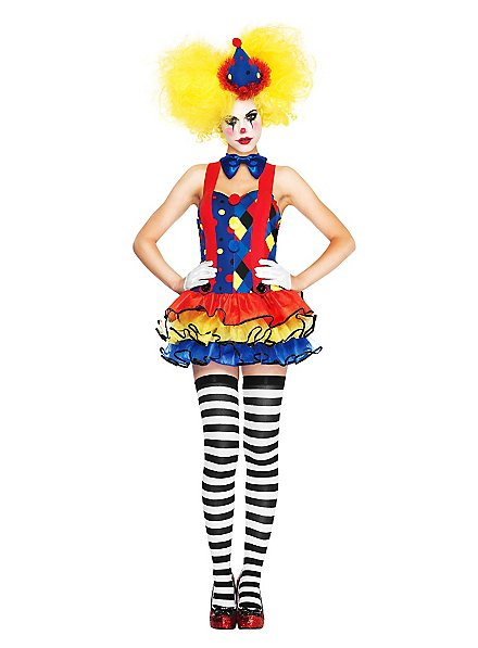 Sexy Clowness Kostüm
