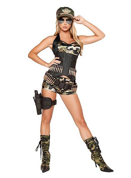 Sexy Colombian Guerrilla Costume