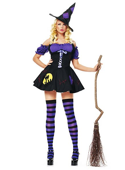 Sexy Comic Witch Costume