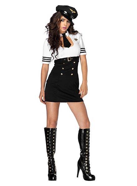 Sexy Fluglehrerin Kostüm
