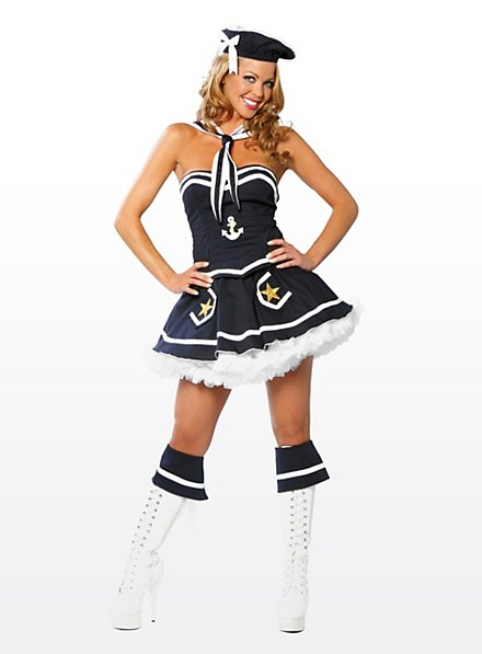 Sexy French Sailor Costume