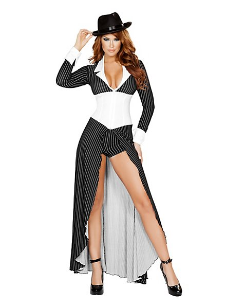 Sexy Gangster Bride Costume