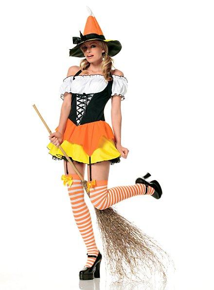 Sexy Halloweenhexe Kostüm