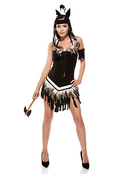 Sexy Indian Warrior Costume
