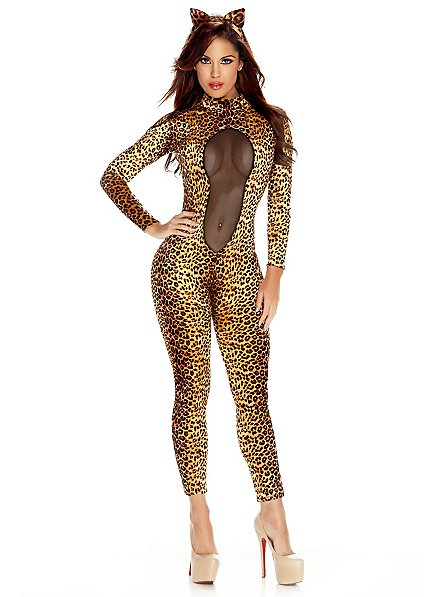 Sexy Leoparden Outfit