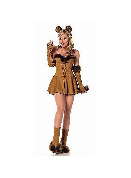 Sexy Löwin Kostüm
