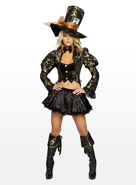 Sexy Mad Hatter Deluxe Costume