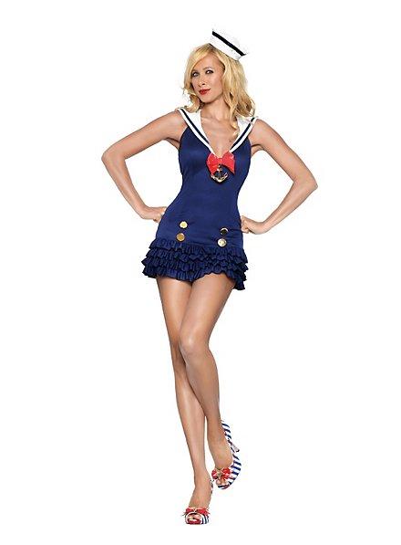 Sexy Marine Kadettin Kostüm