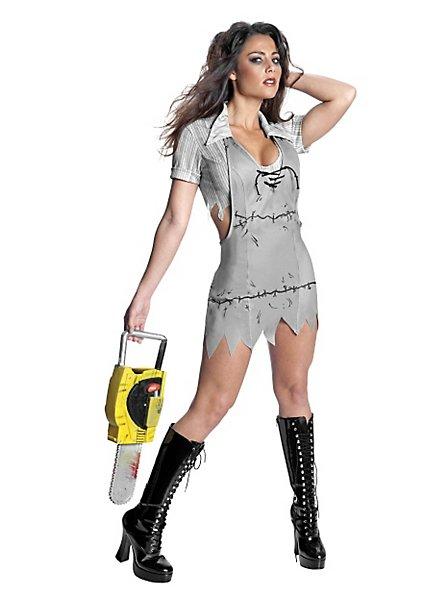 Sexy Miss Leatherface Kostüm